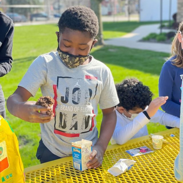 Club members in Appleton had a blast celebrating Earth Week! Members received mini globes from Ms. Barb and Ms. Lynn and then they spent some time taking recycled milk cartons and learning how to plant seeds!   #RestoreOurEarth #EarthWeek