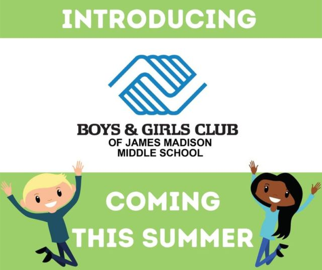 We're on a mission to support and serve more youth in the Fox Valley, which is why we're proud to announce that we're adding another school-based Club location to our family 😊 Introducing the Boys & Girls Club of James Madison Middle School!  This Club will begin serving youth attending James Madison's summer school program from Monday, June 14 – Friday, July 9 (closed July 2 & 5) between 11:30 am – 5:30 pm (Monday-Friday).   This new Club was made possible thanks to tremendous support from donors to our Great Futures Campaign and in collaboration with the Appleton Area School District.  To learn more visit: https://www.bgclubfoxvalley.org/__newclubinappleton/
