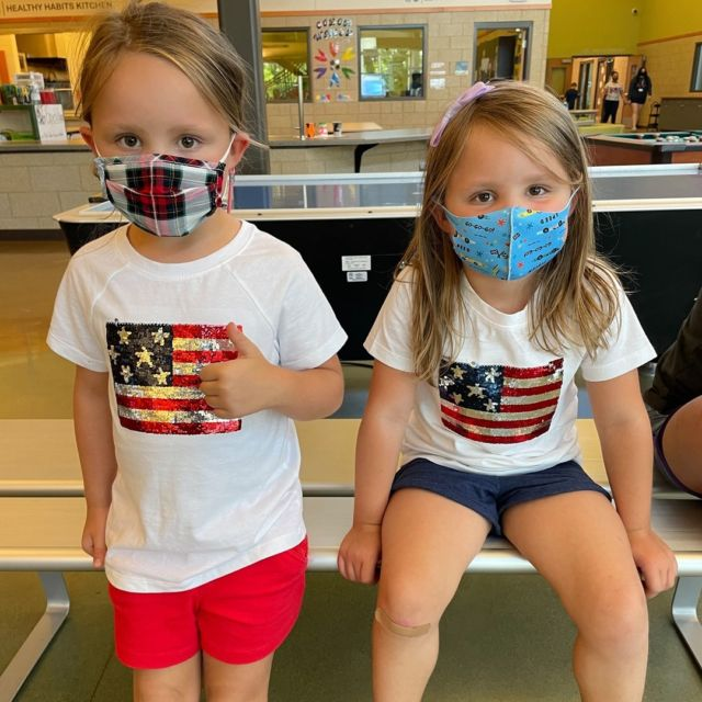 Club members spent some time this week having a little 4th of July fun with fun projects, dessert, and other things red, white, and blue!