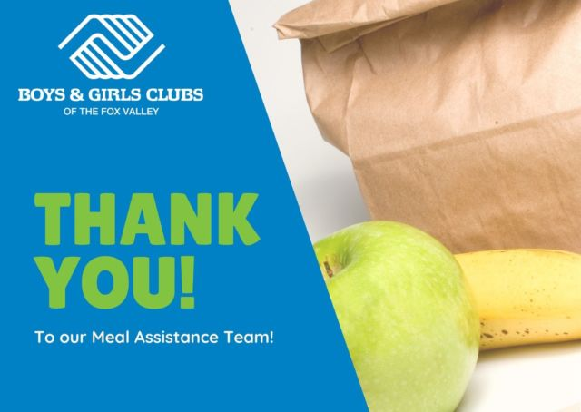 As of last week, Friday our Meal Assistance Program has come to an end. We would like to extend a huge thank you to everyone who took part in making this a great program. Our hardworking team helped serve over 26,000 families in need in our community!  We are proud to have been able to serve the youth and families in our community! #GreatFuturesStartHere #WorkingTogetherWorks