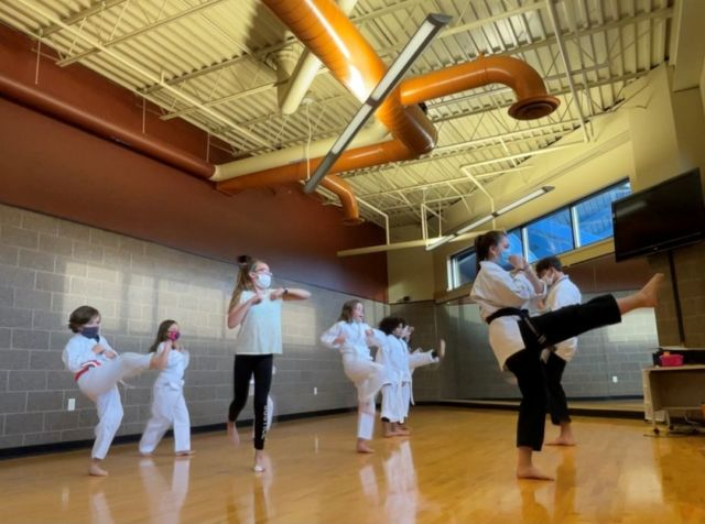Club members are kicking it into the weekend thanks to The Academy which has been spending time teaching the kids karate moves! Opportunities like this help youth build confidence, character,  learn self-defense, and even leadership skills that will serve them well as they continue to grow. #karate #greatfuturesstarthere #opportunityknocks